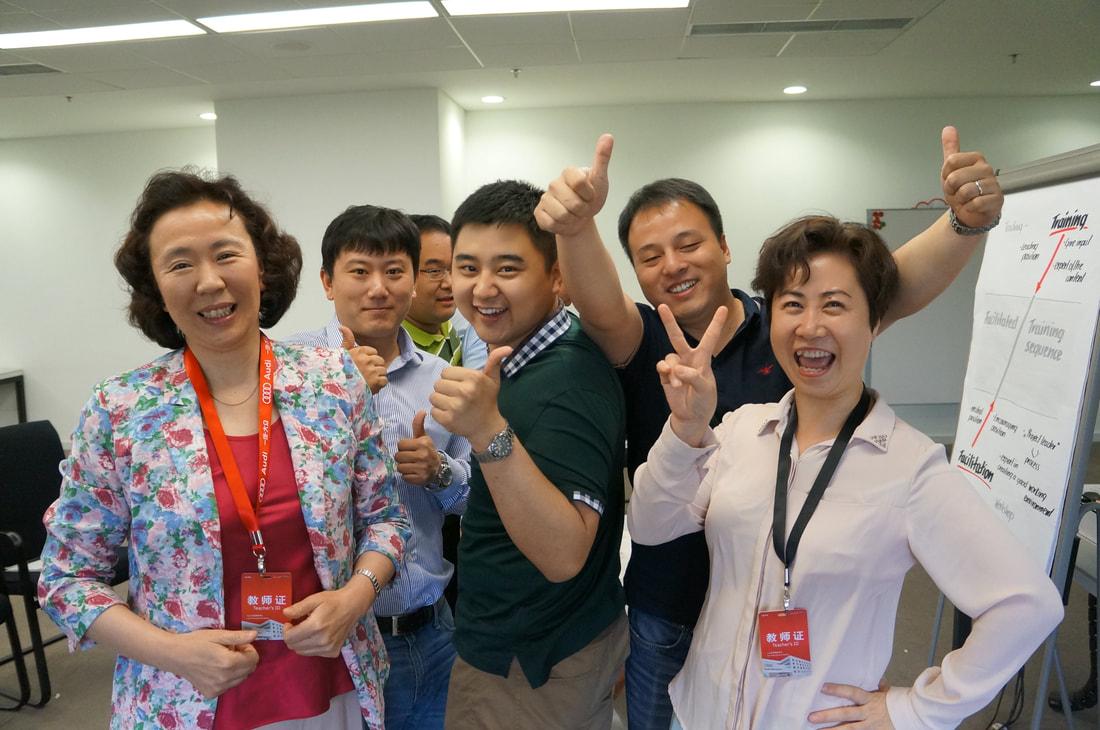 Happy Participants